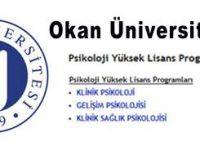 Okan Üniversitesi Psikoloji Yüksek Lisans Programı 2011