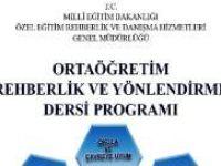Ortaöğretim Rehberlik ve Yönlendirme Dersi Kitabı