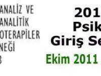 2011-2012 Psikanalize Giriş Seminerleri