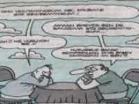 Huzursuz Bacak Sempozyumu - Karikatür-