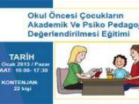 Okul Öncesi Çocukların Psiko Pedagojik Değerlendirilmesi