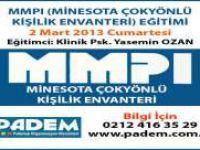 MMPI Eğitimi 2013