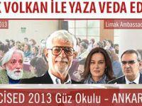 CİSED Güz Okulu Eğitim Programı - 2013