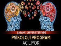 Sabancı Üniversitesi'nde 2014-2015 Psikoloji Bölümü Açılıyor