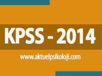 2014 KPSS Soru ve Cevapları