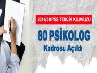 2014 KPSS İle 80 Psikolog Alınacak
