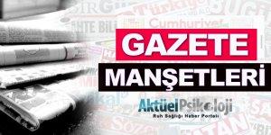 22 Eylül 2017 Gazete Manşetleri