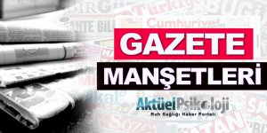 14 Ekim 2017 Gazete Manşetleri