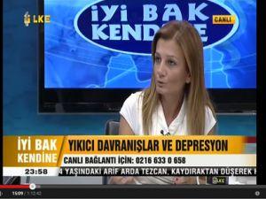 Uzm. Psk. Zehra Erol 'Yikici Davranislar ve Depresyon'