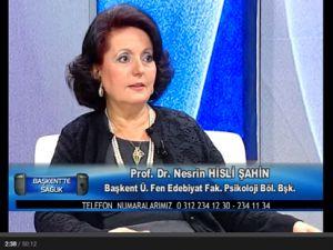 Prof. Dr. Nesrin Hisli Şahin 'Stres ve Stresle Başa Çıkma Yolları'