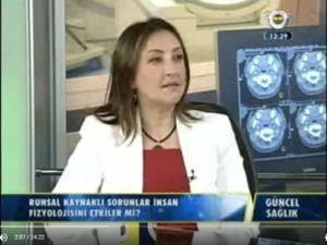Ruh ve Sinir Hastalıkları Uzmanı Dr. Aylin Aksoy Çoban 'Sporun Psikolojik Faydaları'