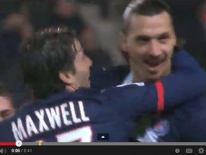 İbrahimoviç'in Nantes'e Attığı Gol