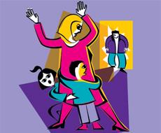 aile içi şiddet resimleri